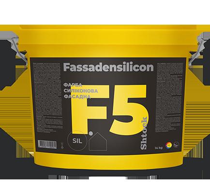 F5 Фарба силіконова фасадна, 14 кг
