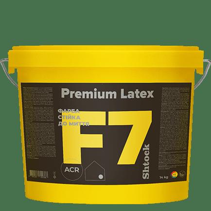 F7 Краска стойкая к мытью Premium Latex, 14 кг