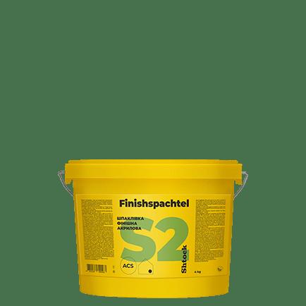 S2 акриловая шпаклевка Finishspahtel, 4 кг