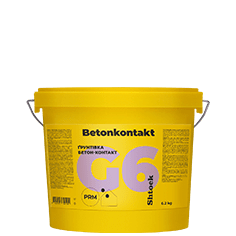 G6 Грунтовка бетон-контакт Betonkontakt, 6,2 кг