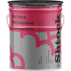 Мастика битумно-каучуковая кровельная, 18 кг
